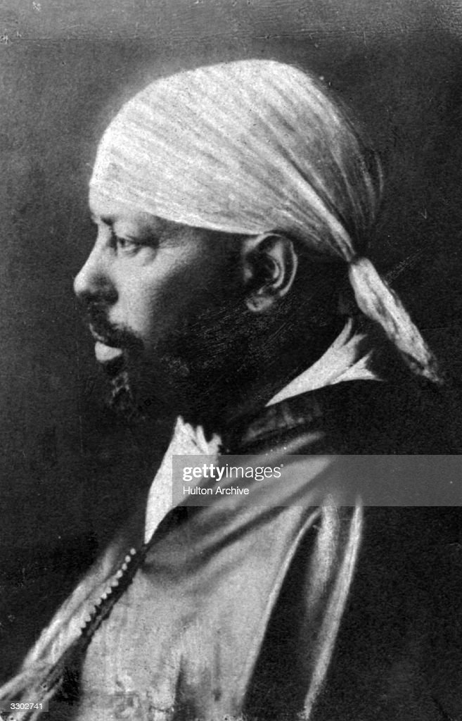 Menelik II : News Photo