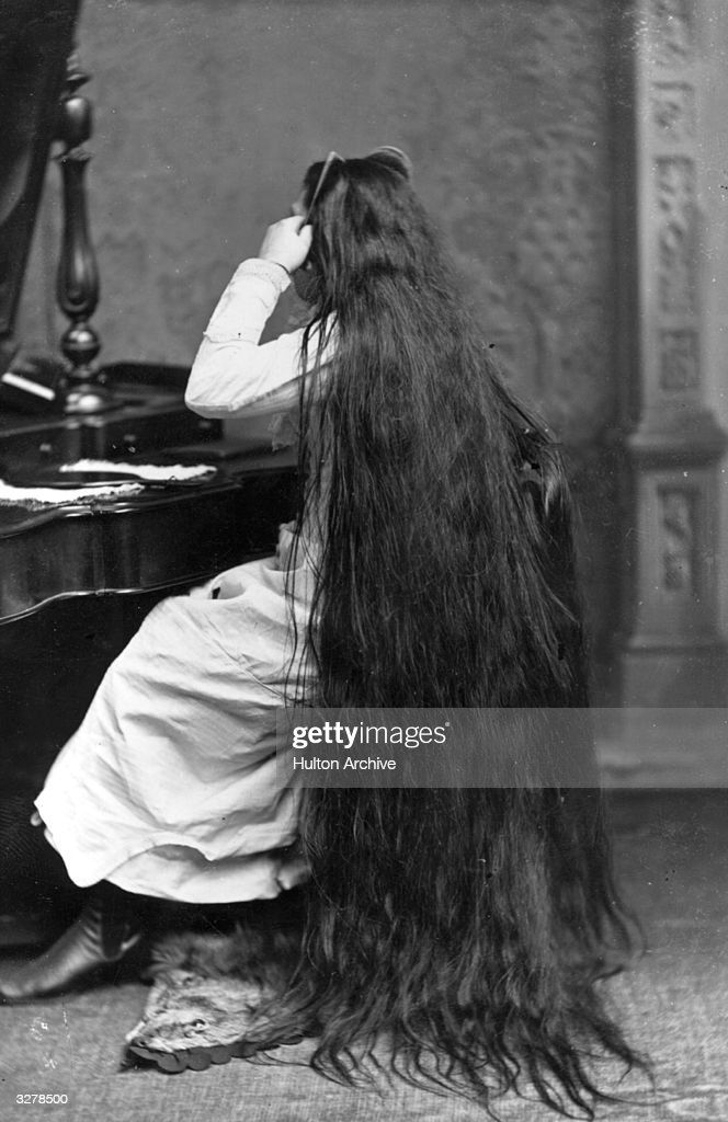 Long Hair : News Photo