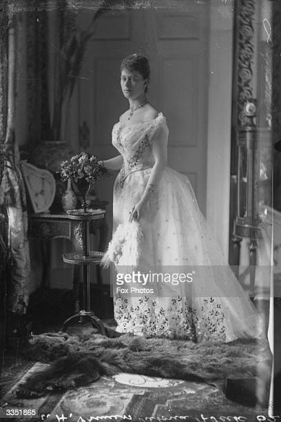 Queen Mary consort of King George V as Princess Mary of Teck known as Princess May of Teck