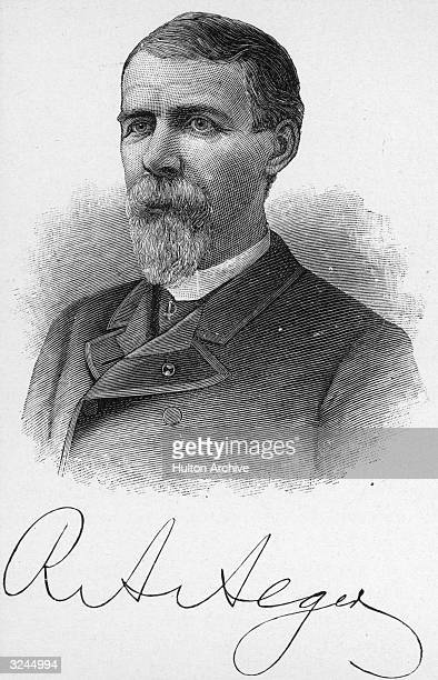 Russell Alexander Alger American politician Secretary of war 18971899 Union MajorGeneral of Volunteers in the Civil War Governor of Michigan