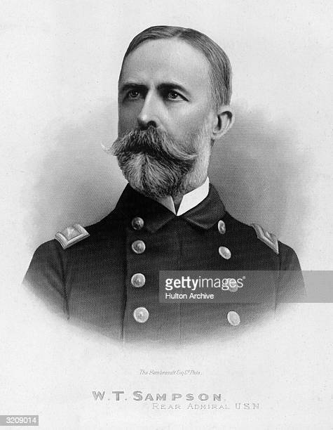 William Thomas Sampson American naval officer In Civil War with Union blockade of Charleston SC 186465 superintendent US Naval Academy Annapolis...
