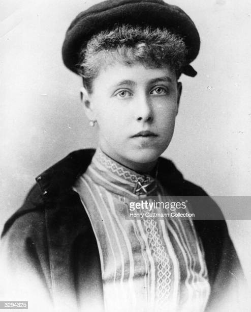 Princess Marie of Edinburgh, later to become Queen of Romania .