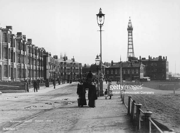Regent Terrace at Blackpool Lancashire