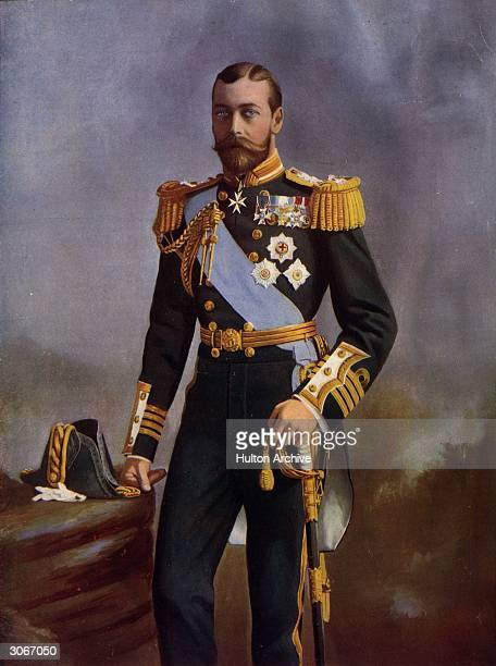 Vice Admiral in the Royal Navy the Duke of York later King George V of Great Britain
