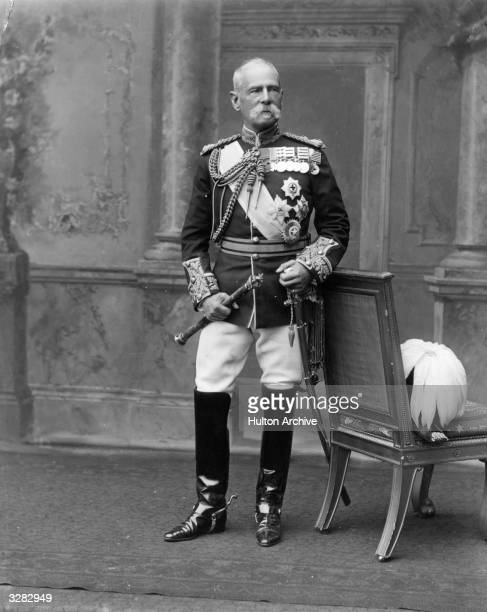 British Field Marshal Frederick Sleigh Roberts He won the VC in 1858 for his leadership in wars in Afghanistan in the Boer War in South Africa and...