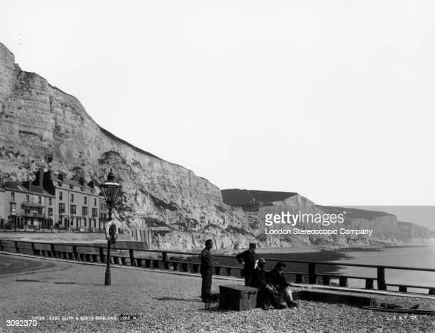 East Cliff and South Foreland in Dover, Kent.