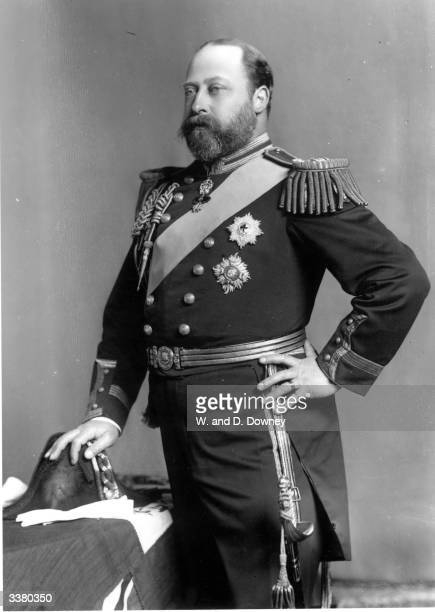 Edward VII King of Great Britain and Emperor of India .