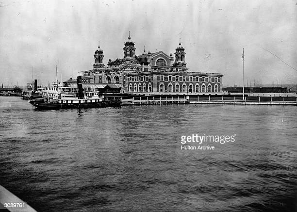 Ellis Island, New York, the first port of call for millions of immigrants to the United States.