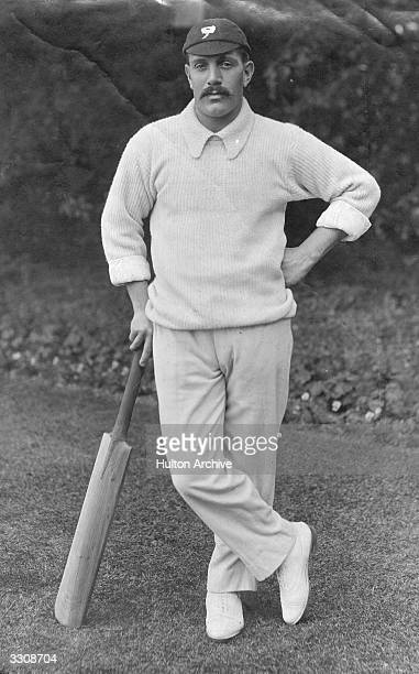 John Thomas Brown known as Jack Brown England and Yorkshire cricketer. Wisden Cricketer of the Year 1895.