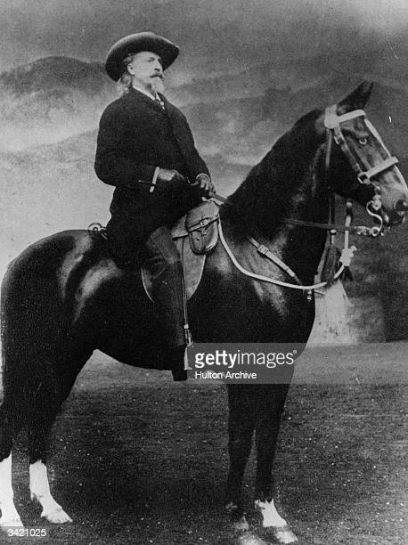 American showman William Frederick Cody known as Buffalo Bill In 1883 Cody began his Wild West Show a representation of life in the American West...