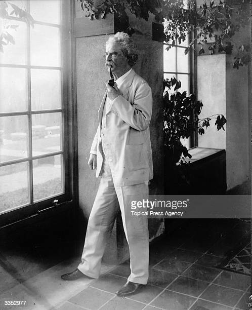 American writer and humourist Samuel Langhorne Clemens whose pseudonym Mark Twain means two fathoms deep His most famous work is 'The Adventures Of...