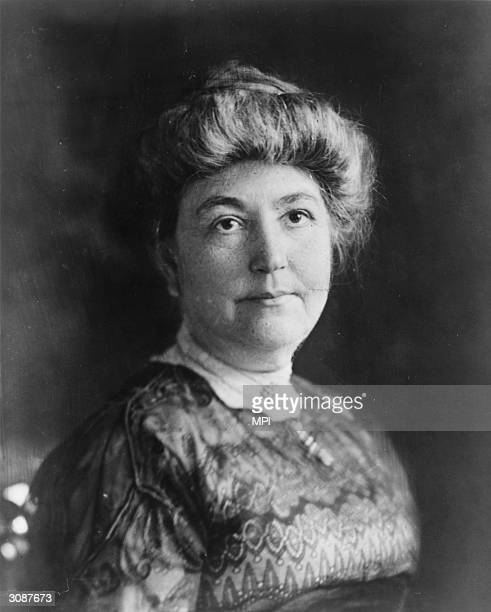 Ellen Louise Axson Wilson the first wife of American president Woodrow Wilson An accomplished painter and popular hostess she died of Bright's...