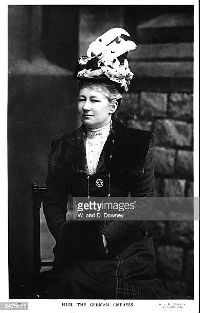 Empress Augusta Victoria Empress of Germany wife of Wilheim I