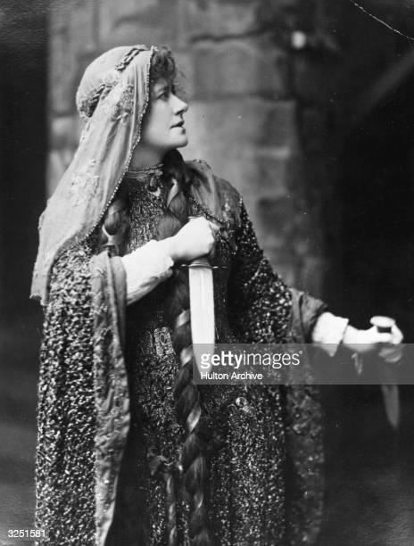 English actress Ellen Terry as Lady Macbeth
