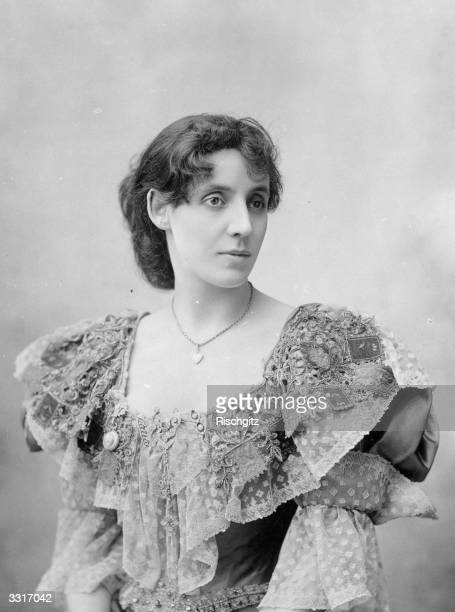 English actress Mrs Patrick Campbell nee Beatrice Stella Tanner born in Kensington London of English and Italian parentage She leapt to fame in 'The...