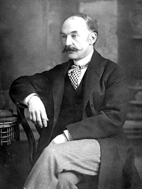 English novelist, poet and dramatist, Thomas Hardy...