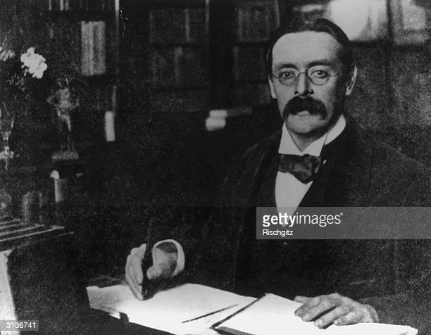 English writer Sir Edmund William Gosse author of the autobiographical work 'Father and Son' He also wrote biographies of Congreve Swinburne Ibsen...