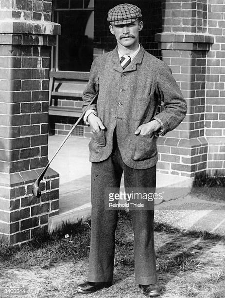 Golfer John H Taylor won the British Open five times