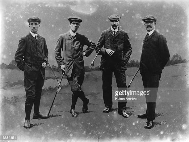 Golfers James Braid Duncan John Henry Taylor and Mayo John H Taylor won the British Open five times