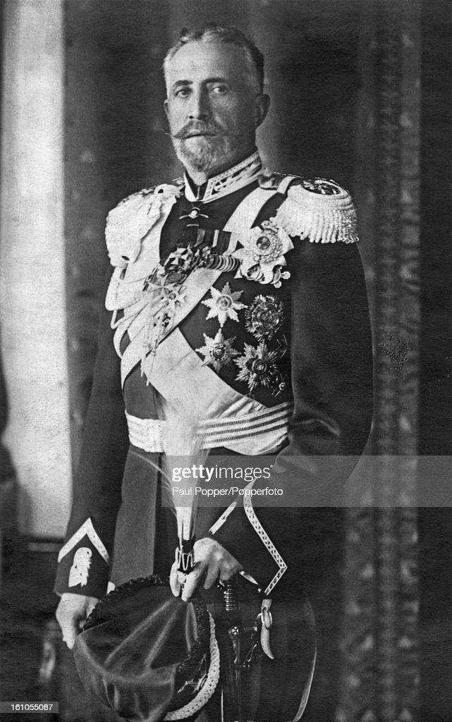 Grand Duke Nicholas Nikolaevich of Russia(1856 - 1929), a Russian general and grandson of Tsar Nicholas I.