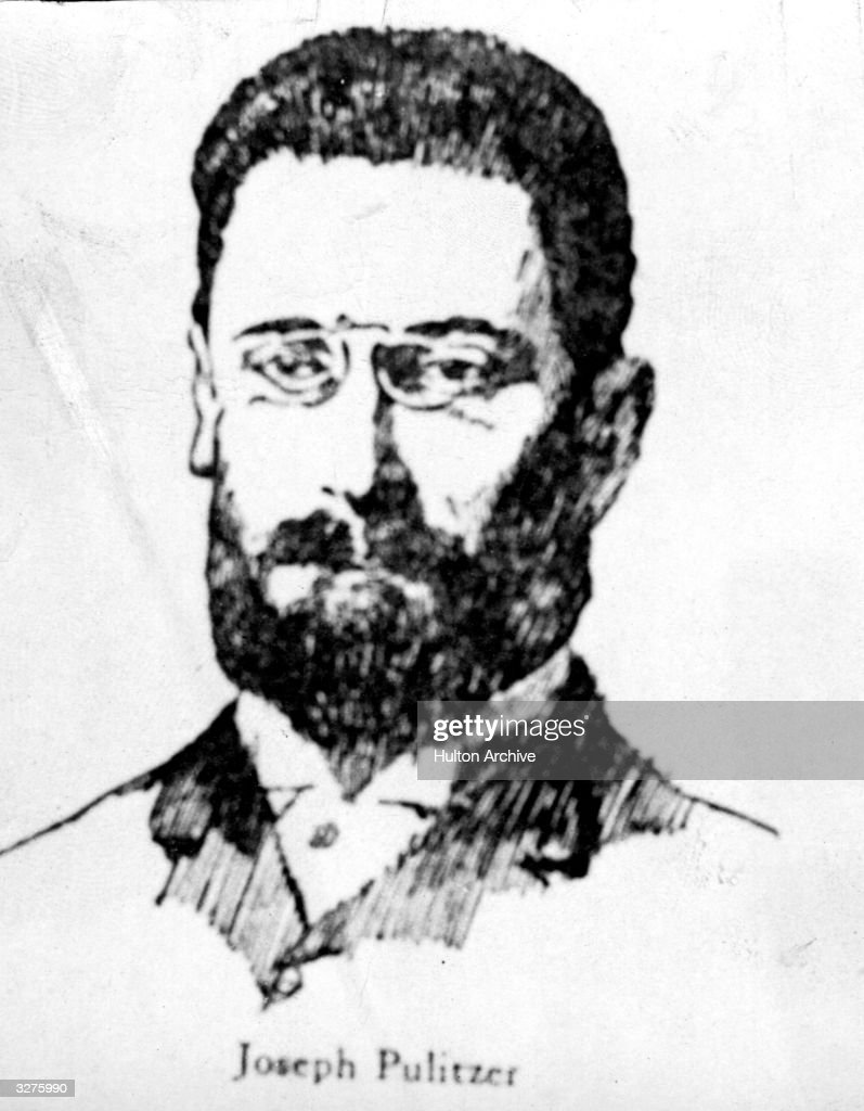 Hungarian-born American newspaper proprietor Joseph Pulitzer
