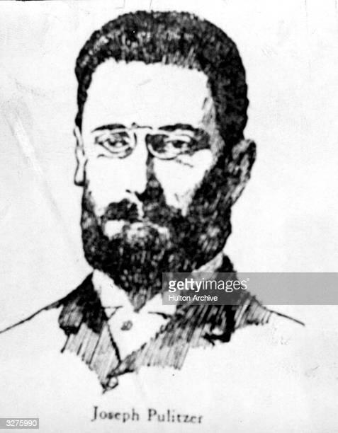 Hungarianborn American newspaper proprietor Joseph Pulitzer creator of the Pulitzer Prize for literature drama journalism and music