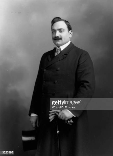Italian operatic tenor Enrico Caruso one of the first opera singers to achieve fame through gramophone recordings