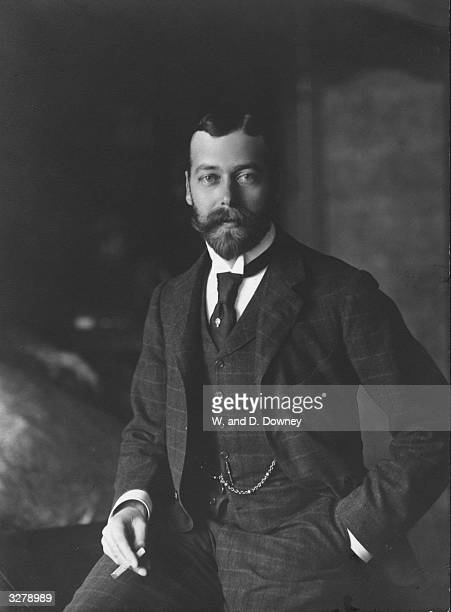 King George V as Duke of York Created Prince of Wales in 1901 he succeeded his father Edward VII in 1910
