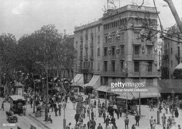 La Rambla de las Flores Barcelona