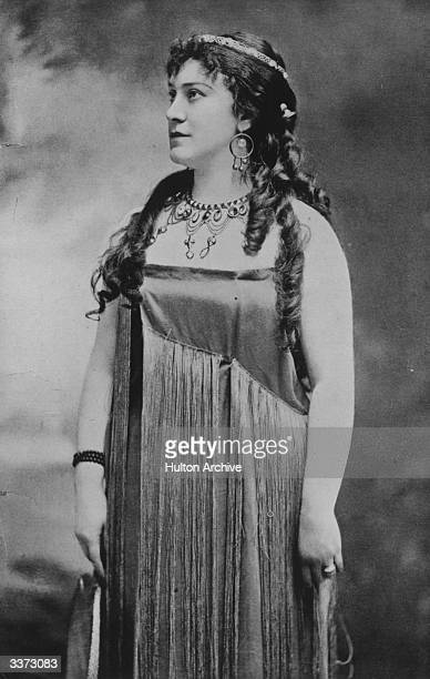 Lillian Nordica as Aida in Verdi's opera of the same name