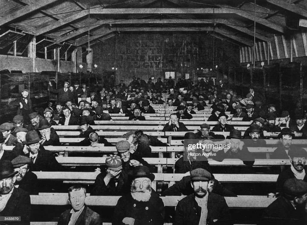 Magnificent Men Sitting On Rows Of Benches At A Salvation Army Shelter Alphanode Cool Chair Designs And Ideas Alphanodeonline