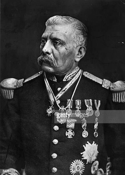 President Porfirio Diaz Mexican soldier and president from 1876 to 1880 and 1884 to 1911