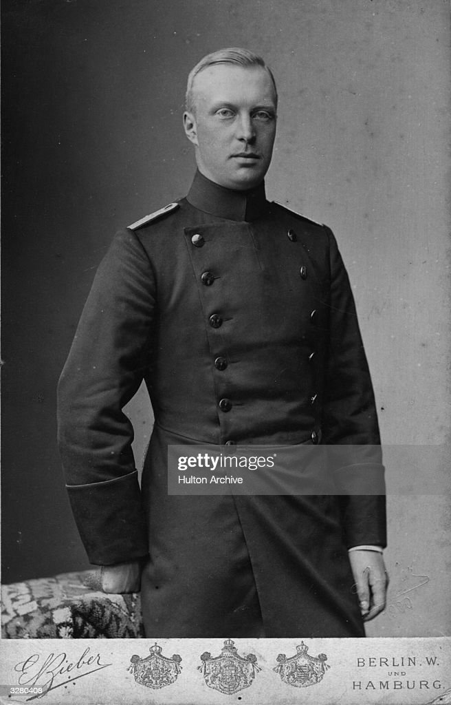 Prince Hendrik of the Netherlands (1876 - 1934), married Queen Wilhelmina of the Netherlands in 1901.