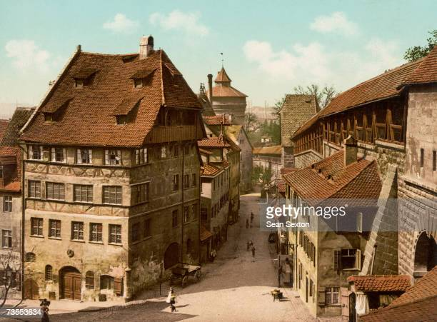 The Durerhaus in Nuremberg where painter and engraver Albrecht Durer spent the last years of his life