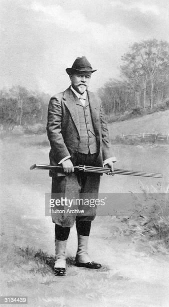 The Earl De Grey George Frederick Samuel Robinson Ripon the 2nd Marquess Ripon and treasurer in the household of Queen Alexandra