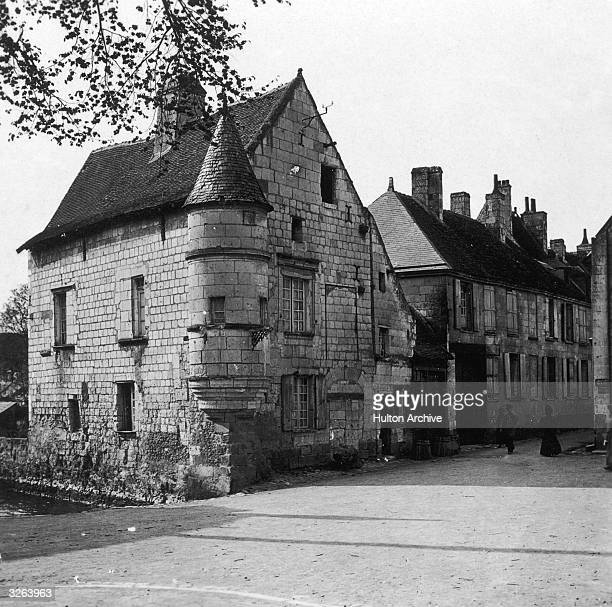The house in Beaulieu sur Loire which was home to Agnes Sorel mistress to King Charles VII of France