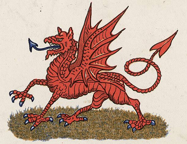 The national emblem of Wales.