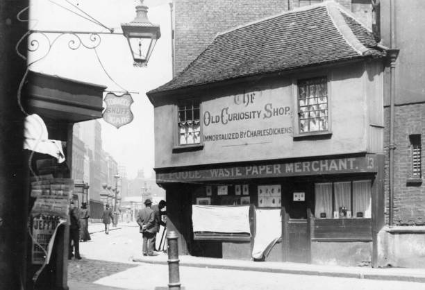 The Old Curiosity Shop, as immortalised by Charles...