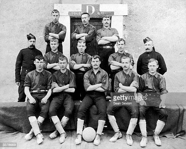 The Royal Irish Rifles football team