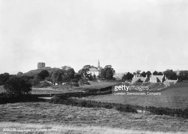 The Scottish town of Dundonald near Kilmarnock in Ayrshire