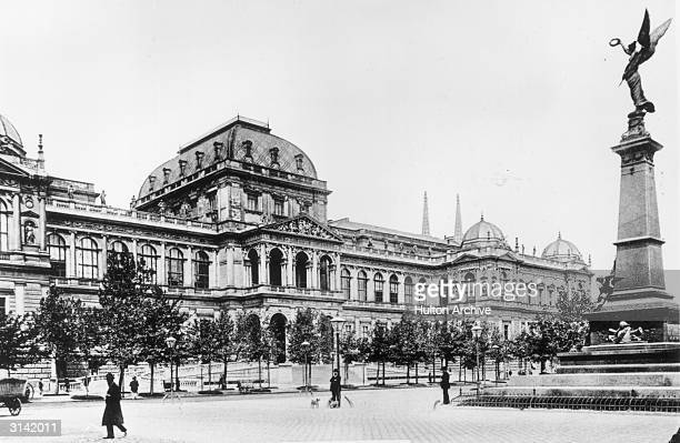 The University of Vienna, founded in 1365 by Rudolf IV, Count of Habsburg.