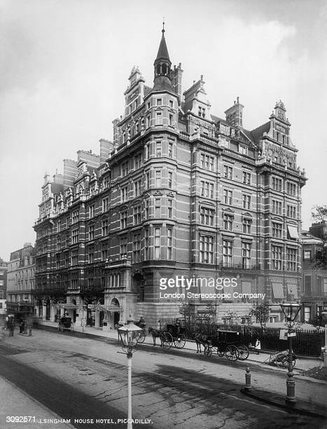 The Walsingham House Hotel at Piccadilly London later the site of the Ritz Hotel
