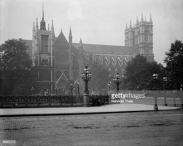 Westminster Abbey, the national church of the United Kingdom. It was built between the 13th and the 16th centuries, originally as the church of a...