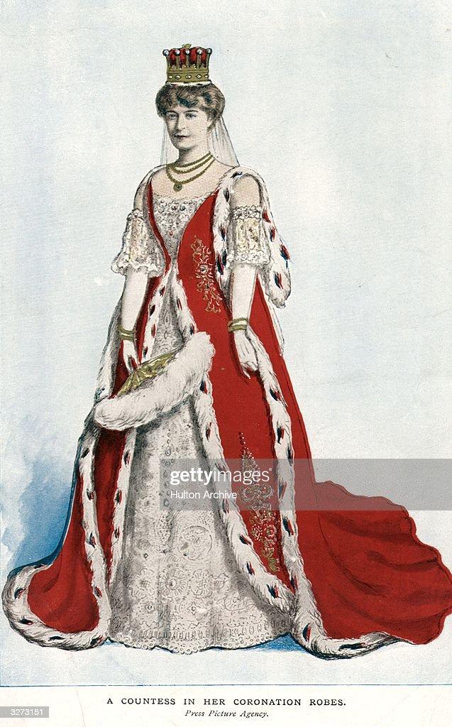 Coronation Robes : ニュース写真