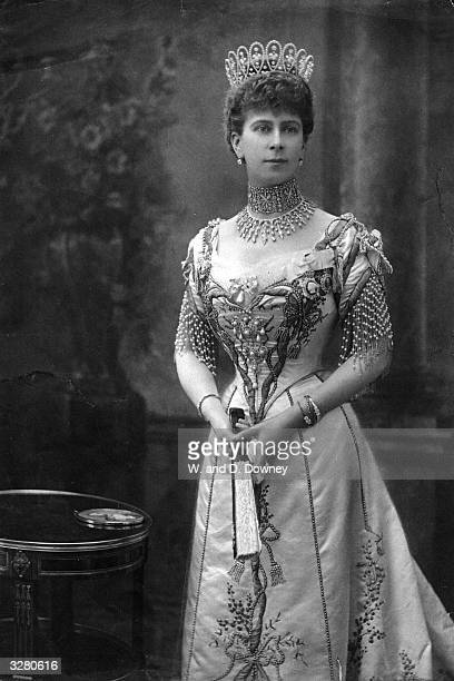 Princess Mary of Teck wife of George V King of England