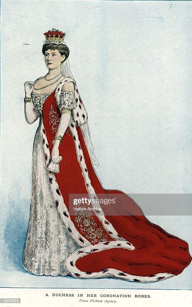 Coronation Robes : News Photo
