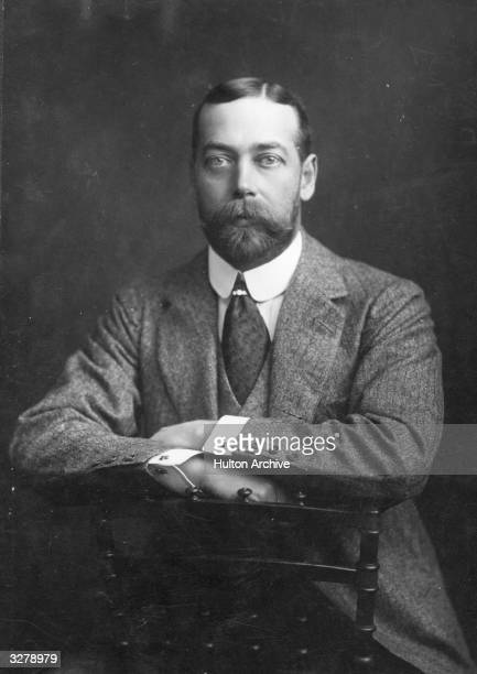 George V as the Prince of Wales He ascended the throne in 1910 on the death of his father