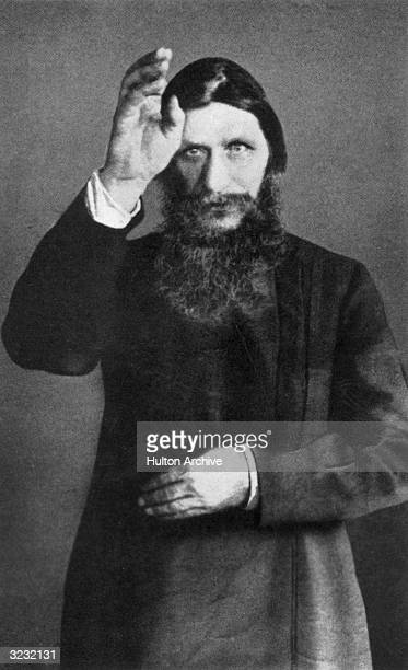 Grigori Efimovich Rasputin Russian mystic and spiritual advisor to the Romanovs and a highly influential figure in the court of Czar Nicholas II