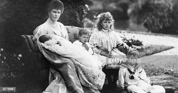 Mary of Teck formerly Princess Victoria Mary Olga Pauline Claudine Agnes of Teck who married Prince George in 1893 to become Queen Mary in 1910 From...