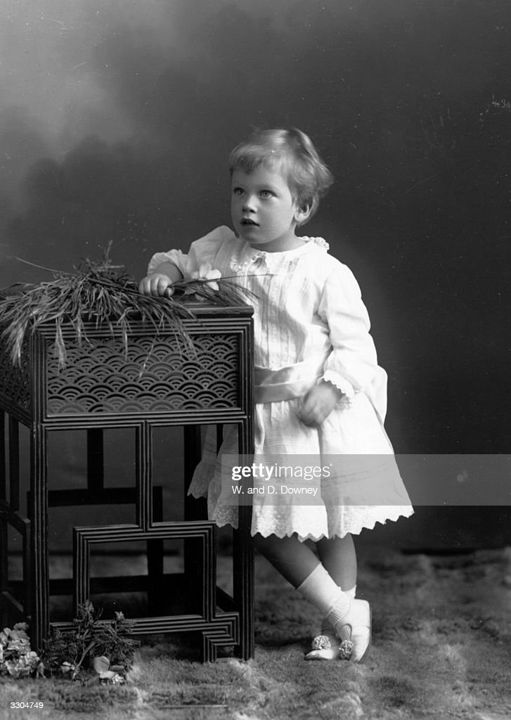 Prince George, Duke of Kent, (1902 - 1942), one of the six children of King George V and Queen Mary.